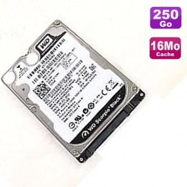 "Disque Dur 250Go SATA 2.5"" Western Digital WD2500BJKT 75F4T0 0K645G Pc Portable"