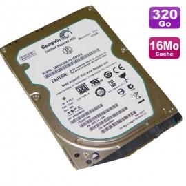 "Disque Dur 320Go SATA 2.5"" Seagate Momentus Thin ST320LT007 9ZV142 Pc Portable"