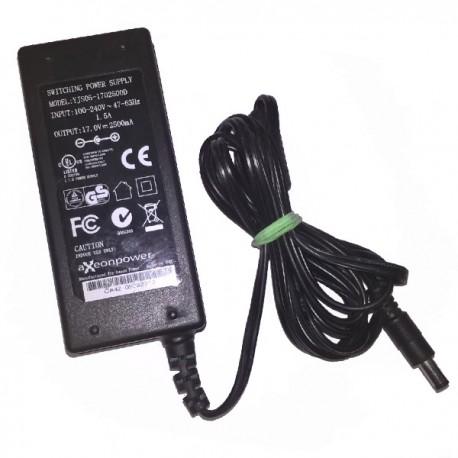 Chargeur Adaptateur Secteur aXeonpower YJS05-1702500D Q061263 E302709 17V 2.5A