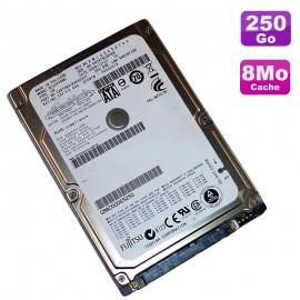 "Disque Dur 250Go SATA 2.5"" Fujitsu MHZ2250BH G2 CA07018 B31700C1 Pc Portable 8M"