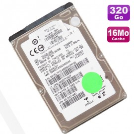 "Disque Dur 320Go SATA 2.5"" Hitachi HTS723232L9A360 7K320 0A58107 Pc Portable"