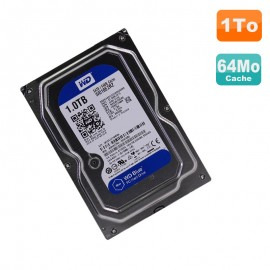 "Disque Dur 1To Western Digital Blue SATA 3.5"" WD10EZRZ-00HTKB0 64Mo 5400 RPM"