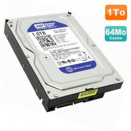 """Disque Dur 1To Western Digital Blue SATA 3.5"""" WD10EZEX 00WN4A0 64Mo 7200 RPM"""