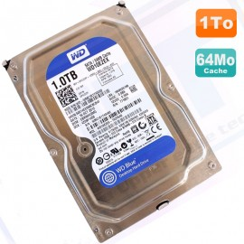 "Disque Dur 1To Western Digital Blue SATA 3.5"" WD10EZEX 75ZF5A0 64Mo 7200 RPM"