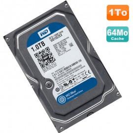 """Disque Dur 1To Western Digital Blue SATA 3.5"""" WD10EZEX 00BN5A0 64Mo 7200 RPM"""