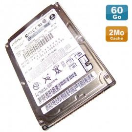 "Disque Dur 60Go IDE 2.5"" Fujitsu MHV2060AH CA06531 B22200C1 Pc Portable 8M"