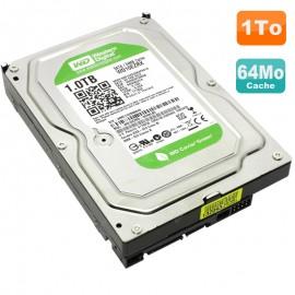"Disque Dur 1To Western Digital Green 3.5"" SATA WD10EZRX-00L4HB0 64MB"