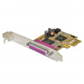 Carte Parallèle Exsys EX-44010 DB-25 IEEE1284 PCI-e High Profile