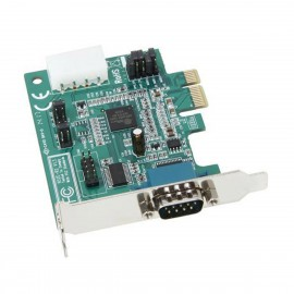 Carte Série StarTech PEX2S952LP 952E-R2 PCI-e RS-232 DB-9M Molex IDE Low Profile