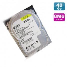 "Disque Dur 40Go IDE ATA 3.5"" Western Digital Caviar WD400BB-75DEA0 7200RPM 2Mo"