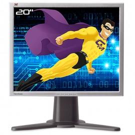 "Ecran PC Pro 20"" ViewSonic VP201s VLCDS26064-4W TFT VGA DVI 4x USB 1600x1200 4:3"