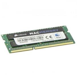 4Go RAM PC Portable CORSAIR CMSA8GX3M2A1066C7 SODIMM DDR3 PC3-8500S 1066MHz 1.5v