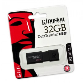 Clé USB 3.0 Kingston DT100G3/32GB DataTraveler 100 G3 32Go NEUF