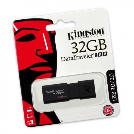 Clé USB 3.0 Kingston DT100G3/32GB DataTraveler 100 G3 32Go NEUF