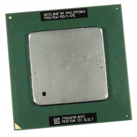 Processeur CPU Intel Pentium 3 1.133Ghz 256Ko FSB 133Mhz Socket 370 SL5LT PC