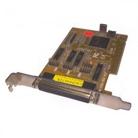 Carte Adaptateur PCI 4 Ports Série RS-232 1 Port Parallèle W-954-4S1P 128b