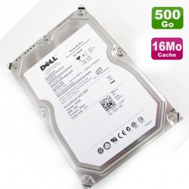 "Disque Dur 500Go 3.5"" SAS Seagate Certifié Dell ST3500620SS 9EF244 Barracuda"