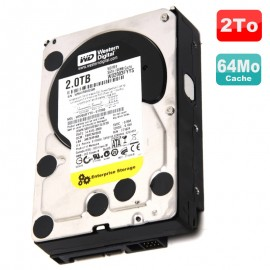 "Disque Dur 2To SATA II 3.5"" WD RE4 Enterprise Storage WD2003FYYS-02W0B0 7200RPM"