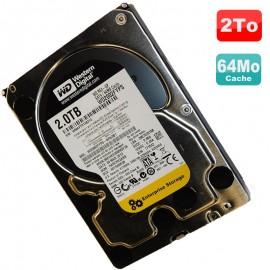"Disque Dur 2To SATA II 3.5"" WD RE4 Enterprise Storage WD2003FYYS-02W3B1 7200RPM"