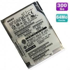 """Disque Dur 300Go 2.5"""" SAS Sun Oracle HUC109030CSS600 0B26019 HGST 10K RPM 64Mo"""