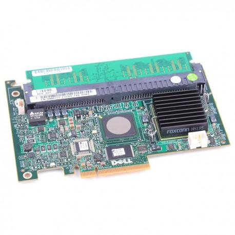 Carte Raid SAS DELL PCIe E2K-UCP-51(B) 0XM771 0YF437 PERC 5/i 256Mo Sans Equerre