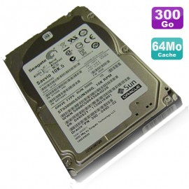 "Disque Dur 300Go 2.5"" SAS Sun Oracle ST9300605SS 542-0388 9TE066 Seagate Savvio"