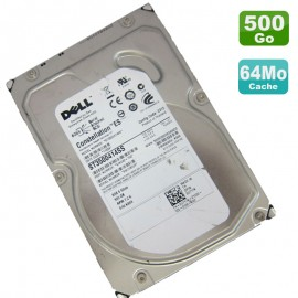 "Disque Dur 500Go SAS 3.5"" Dell Constellation ST3500414SS 9JX242-150 7200RPM"