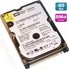 "Disque Dur 40Go IDE 2.5"" Western Digital Scorpio WD400VE 75HDT1 8Mo Pc Portable"