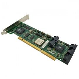 Carte contrôleur RAID 8x SATA II AMCC 700-3188-04 C 9550SXU-8LP PCI 64-Bits 3.3v