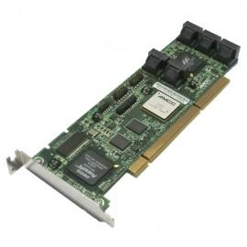 Carte contrôleur RAID 8x SATA II AMCC 700-3188-04 C 9550SXU-8LP PCI Low Profile