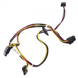 Câble Alimentation SATA HP 730365-001 ProDesk 400 G1 SFF 4Pin 3xSATA 1xMini-SATA