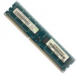 4Go RAM PC Bureau Ramaxel RMR5030MJ68F9F DDR3 PC3-12800U 240PIN 1600Mhz 1Rx8
