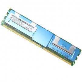 4Go RAM Serveur Micron MT36HTF51272FZ-667H1D6 PC2-5300F DIMM DDR2 667Mhz 2Rx4