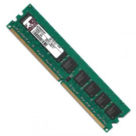 RAM Mémoire Serveur DDR2-800 Kingston PC2-6400E 2GB ECC CL6 2RX8 DIMM KWM553-ELC