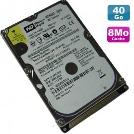 "Disque Dur 40Go IDE 2.5"" Western Digital Scorpio WD400VE 08HDT0 8Mo Pc Portable"