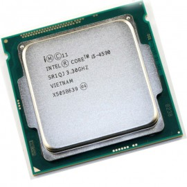 Processeur CPU Intel Core i5-4590 3.3Ghz 6Mo 5GT/s FCLGA1150 SR1QJ