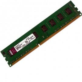 Ram Barrette Mémoire KINGSTON 2Go DDR3 PC3-10600U KVR1333D3N9/2G 2Rx8 1333MHz