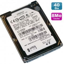 "Disque Dur 40Go IDE ATA 2.5"" Hitachi HTS541640J9AT00 5400RPM Pc Portable 8 Mo"