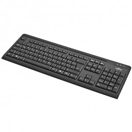Clavier AZERTY Noir Fujitsu KB410 S26381-K515-L440 PS/2 103 Touches PC Keyboard