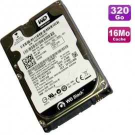 "Disque Dur 320Go SATA 2.5"" WD WD3200BEKT-75PVMT1 Black Scorpio 7200RMP 16Mo"