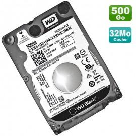 "Disque Dur 500Go SATA 2.5"" WD WD5000LPLX-75ZNTT0 Black 7200RMP 32Mo SATA III"