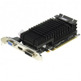 Carte Graphique MSI GeForce GT610 N610-1GD3H/LPV1 1Go DDR3 PCI-e VGA HDMI DVI-I