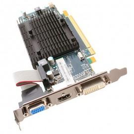 Carte AMD Radeon HD5450 299-1E164-501SA 1Go DDR3 PCIe HDMI DVI-I VGA Low Profile