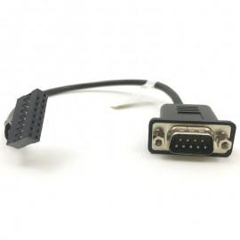 Câble Adaptateur Serie DB-9 15-Pin COM2 Lenovo 31501173 FRU 03T8177 ThinkCentre