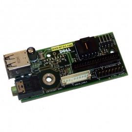 Front Panel Dell 09K939 9K939 09K941 2xUSB Audio 170L GX60 GX260 GX270 OptiPlex