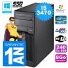 PC Tour Fujitsu Esprimo P400 I5-3470 RAM 8Go Disque 240 Go SSD Wifi W7