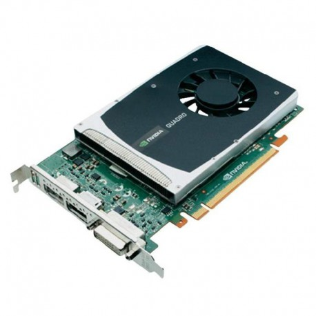 Carte HP NVIDIA Quadro 2000 612952-002 616075-001 1Go GDDR5 PCI-e DVI 2x Display