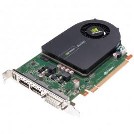 Carte HP NVIDIA Quadro 2000 612952-003 671136-001 1Go GDDR5 PCI-e DVI 2x Display