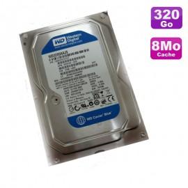 """Disque Dur 320Go SATA 3.5"""" Western Digital Caviar Blue WD3200AAJS-65M0A0 8Mo"""