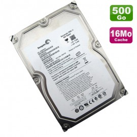 "Disque Dur 500Go SATA 3.5"" Seagate ST3500620AS 9BX144-621 Barracuda 7200.10 16Mo"